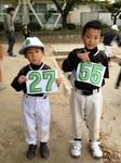 KEITOとSOUJIROUの背番号.JPG